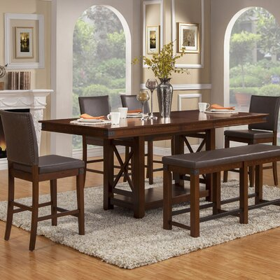 Wayland Counter Height Extendable Dining Table