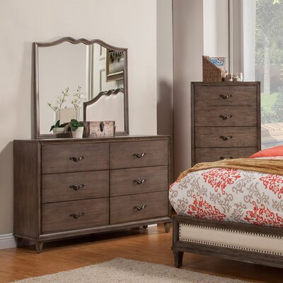 Calila 6 Drawer Double Dresser