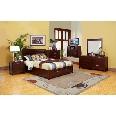 Garfield Platform Bed with Storage