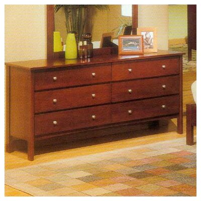 No credit financing Costa 6 Drawer Dresser...