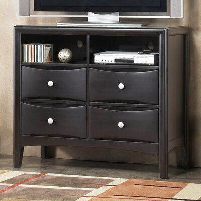 Rent to own Laguna 4 Drawer Media Chest...