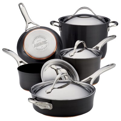 Nouvelle Copper 9-Piece Cookware Set