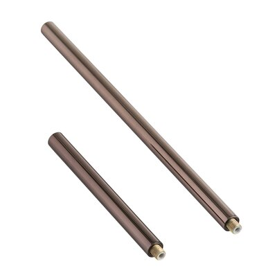 Brown Nickel Extension Pipe (1) 6 and (1) 12