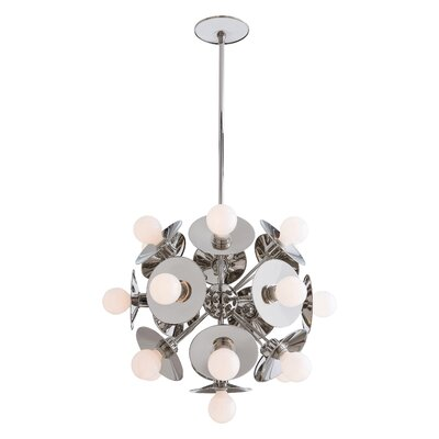 Astrid Sputnik Chandelier Finish: Polished Nickel