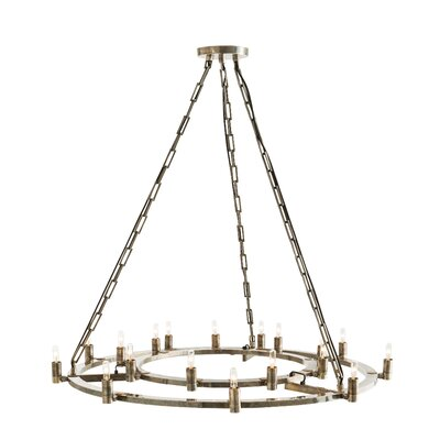 Kaylor 18-Light Candle-Style Chandelier