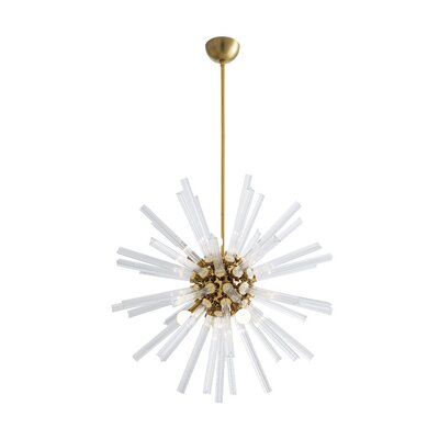Hanley Sputnik Chandelier Finish: Brass