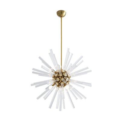 Hanley Sputnik Chandelier Color: Brass