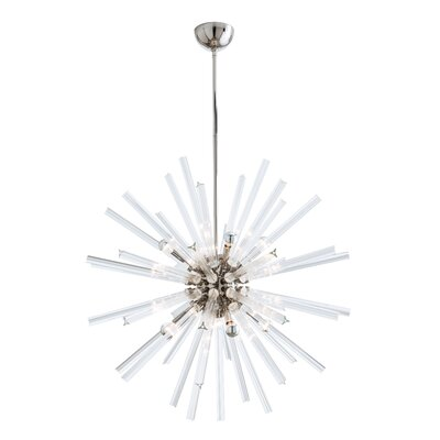 Hanley 8-Light Sputnik Chandelier Finish: Polished Nickel