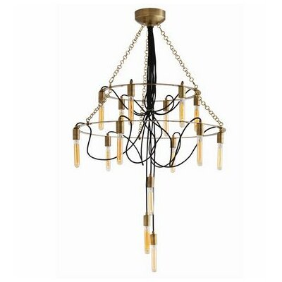 Winston Fixed 15-Light Candle-Style Chandelier