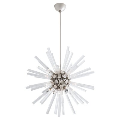 Hanley Sputnik Chandelier Finish: Nickel