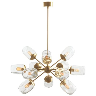 Ramirez 12-Light Sputnik Chandelier