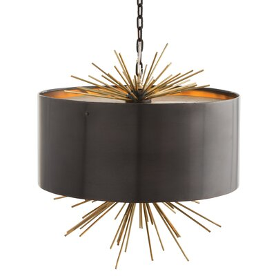 Quimby 3-Light Drum Pendant