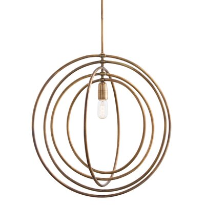 Quintana 1-Light Globe Pendant