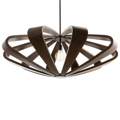 1-Light Foyer Pendant Size: Large