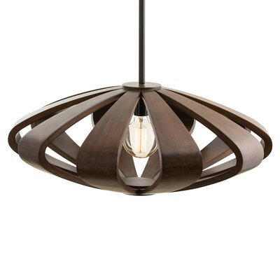 1-Light Foyer Pendant Size: Small