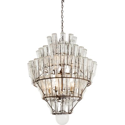 Canton 9-Light Crystal Chandelier