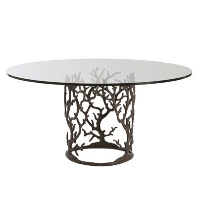 Ursula Dining Table Size: 30 H x 66 W x 66 D