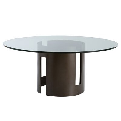 Thatcher Dining Table Size: 30 inch H x 66 inch W x 66 inch D