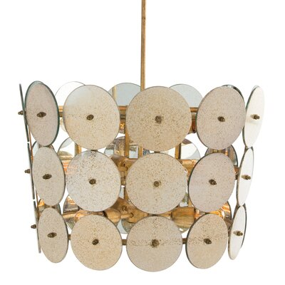 Barry Dixon for Arteriors 13-Light Drum Pendant