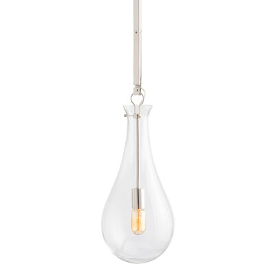Sabine 1-Light Mini Pendant Finish: Polished Nickel