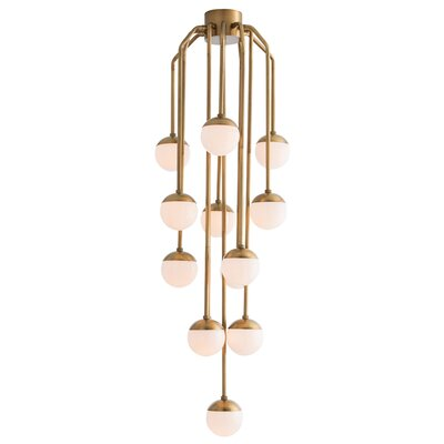 13-Light LED Cascade Pendant by Arteriors 89004