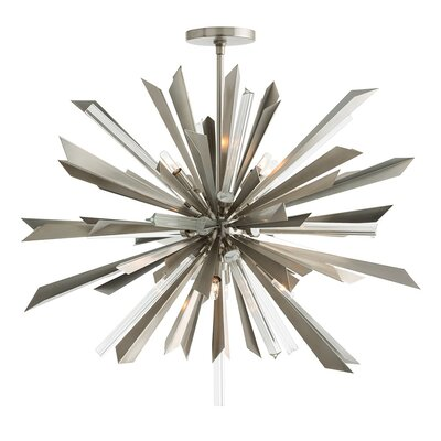Waldorf 8-Light Sputnik Chandelier Color: Vintage Silver