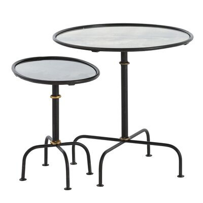 Dickens 2 Piece Nesting Tables