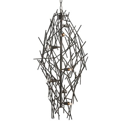 Fortner 8-Light Sputnik Chandelier