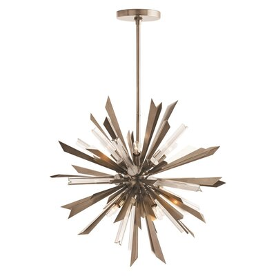 Waldorf 8-Light Sputnik Chandelier Finish: Vintage Silver