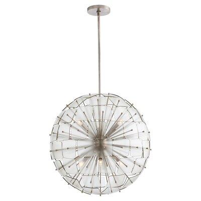 Zanadoo Enya 6-Light Globe Pendant Finish: Vintage Silver
