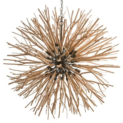 Finch Starburst 8-Light Geometric Pendant