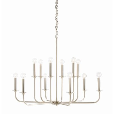Breck 12-Light Candle-Style Chandelier