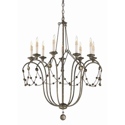 Devon 9-Light Candle-Style Chandelier
