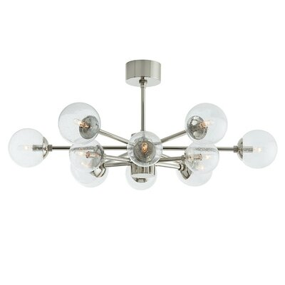 Karrington 12-Light Sputnik Chandelier Color: Polished Nickel