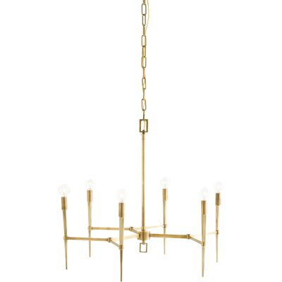 Auburn 6-Light Candle-Style Chandelier