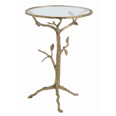 Buy Low Price ARTERIORS Home Sherwood Accent Table in Distressed Antique Brass (ARN1084)