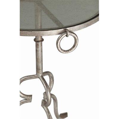 Cheap ARTERIORS Home Raul Iron / Glass Side Table Leaf: Silver (ARN1448_7225461)