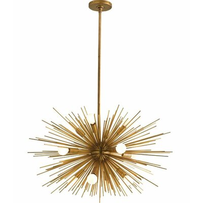 Zanadoo 12-Light Geometric Pendant Color: Gold