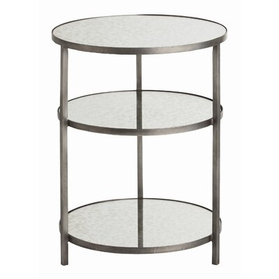 Percy Tray Table Color: Natural Zinc