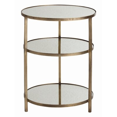 Percy End Table Color: Antique Brass
