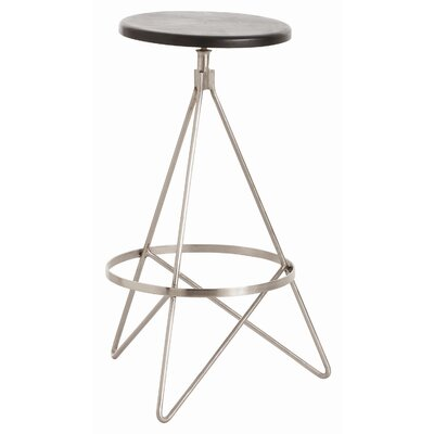 Wyndham 25 Swivel Bar Stool Color: Polished Nickel