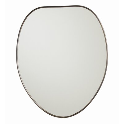 "28"" H x 23"" W Farhner Vanity Mirror Finish: Antique Brass"