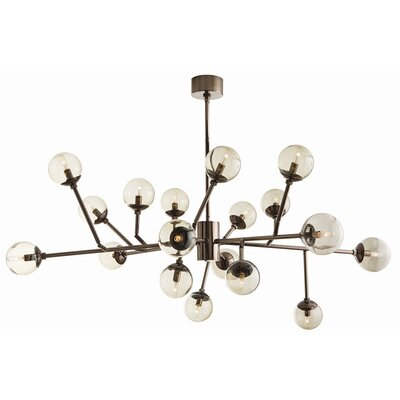 Dallas 18-Light Sputnik Chandelier