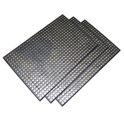 Buffalo Tools Buffalo Copr Foot Industrial Rubber Floor Mat (Set of 3)