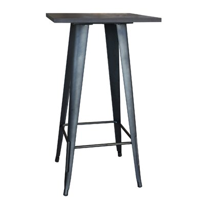 Kori Loft Black Pub Table Finish: Rustic Gunmetal