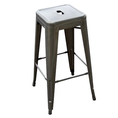Racheal 30 Bar Stool Finish: Gun Metal
