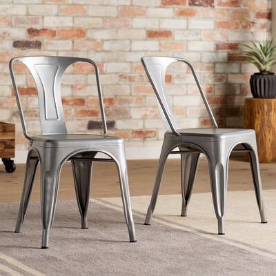 Racheal Side Chair Finish: Silver
