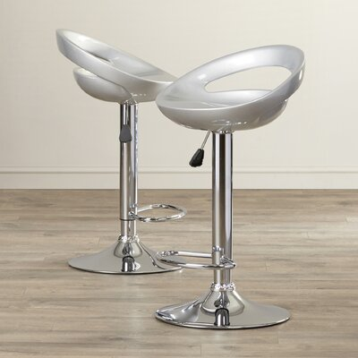 AmeriHome Adjustable Height Swivel Bar Stool