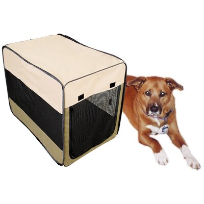 Soft Sided Steel and Cloth Portable Yard Kennel Size: 36 H x  24.5 W x 27.5 L