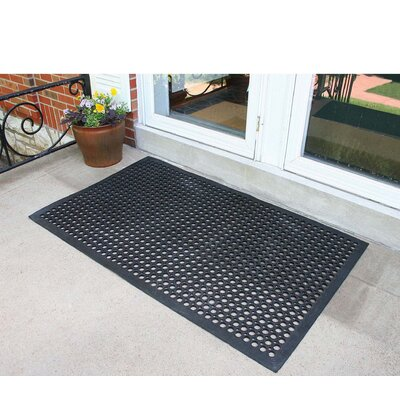 Wayfair Basics Industrial Rubber Floor Mat
